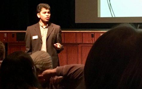 ISU Math Professor Visits U-High