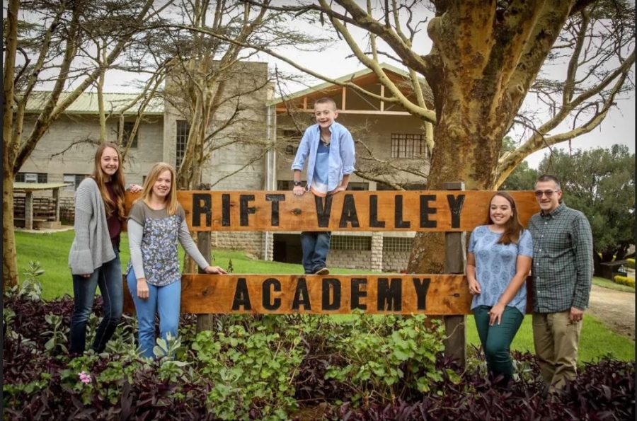 The Landes family spent a year abroad in Nairobi, Kenya at the Rift Valley Academy.
